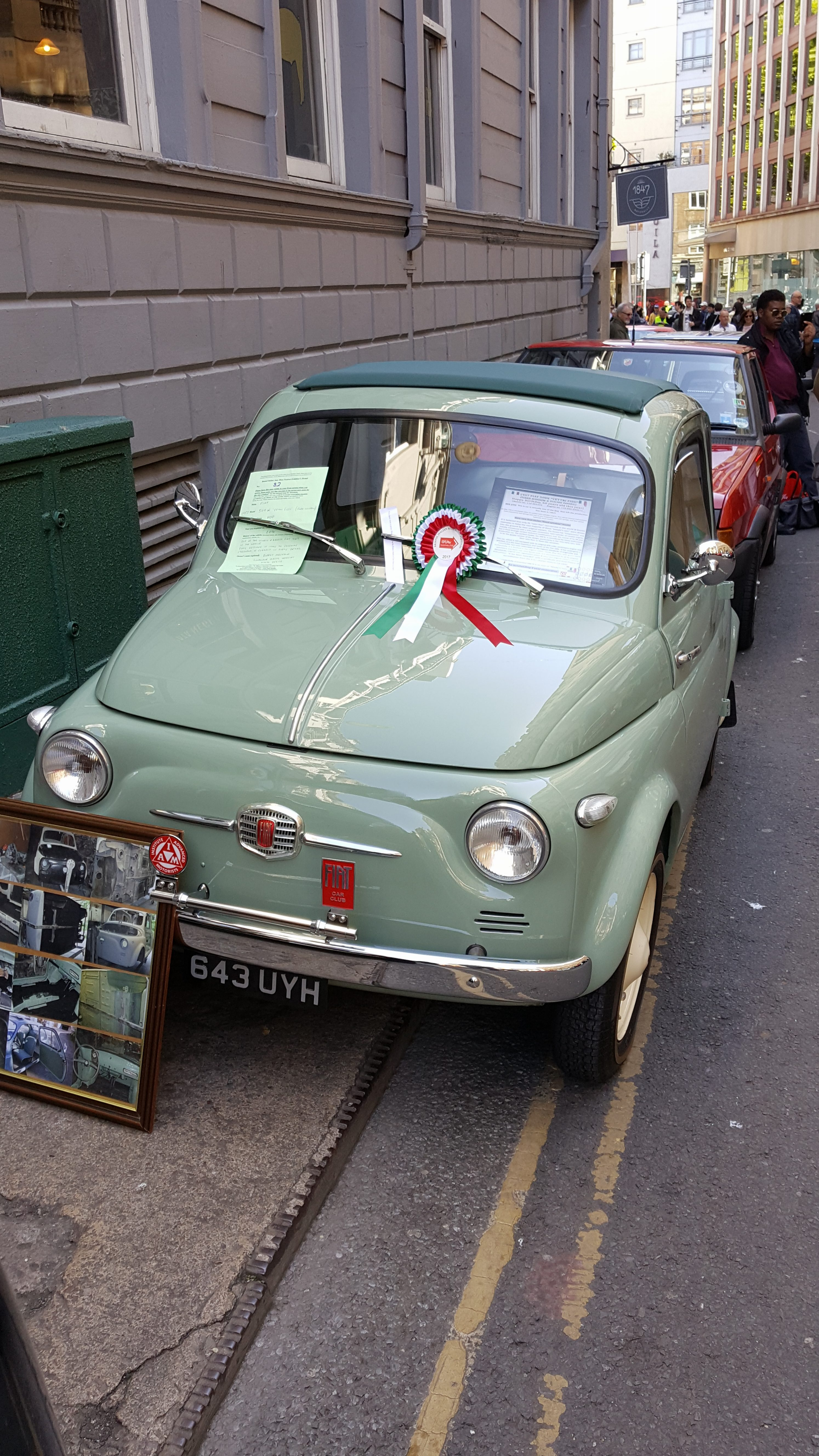 1957 Fiat 500n Vetri Fissi Lowbourne Classic Vehicles Lowbourne
