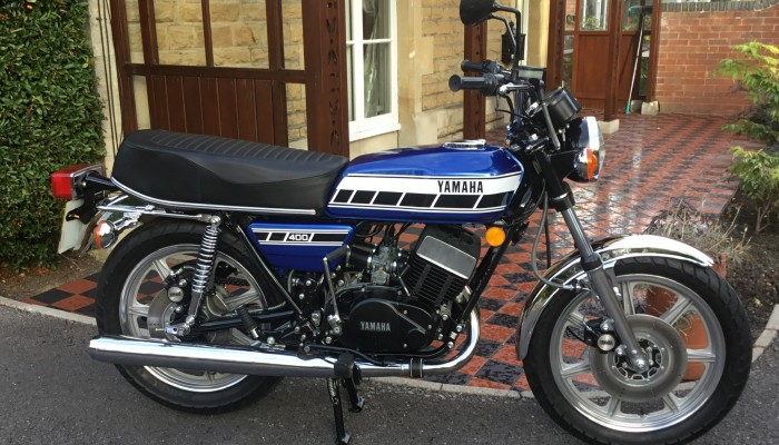1976 YAMAHA RD400, AWESOME! - Lowbourne Classic Vehicles